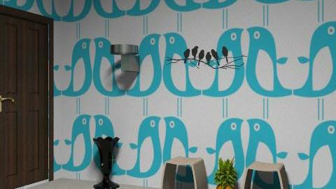 Bed Ivie's bathroom - Glamour - Bathroom  - by blueeyes