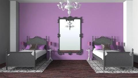 Twins Room - Modern - Bedroom - by shotzydog