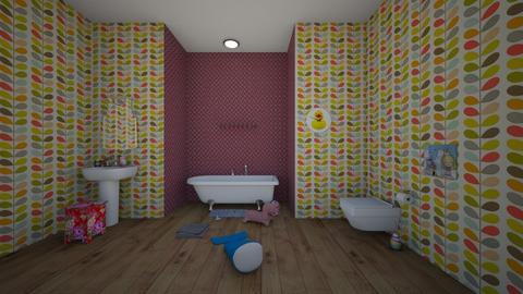 little girl bathroom - Bathroom  - by  Mary Ann