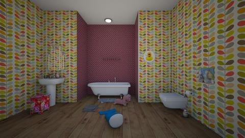 kids bathroom - Bathroom  - by  Mary Ann
