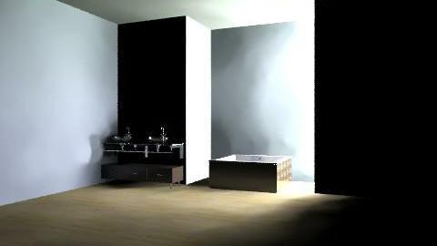 white & brown - Vintage - Bedroom - by Jessiecait