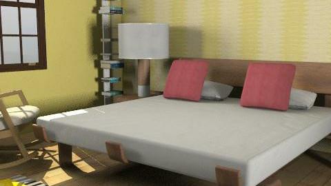 Bedroom - Western - Rustic - Bedroom  - by wio_81