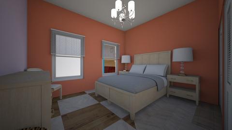 MYHOUSE  - Living room  - by Amairany Peralta