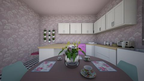 1950s kitchen - Retro - by MearStyle
