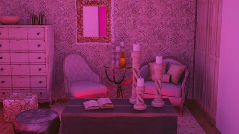 Ultra_Violet - Living room  - by Jahsoftball_