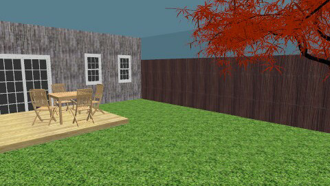 backyard - Classic - Garden  - by Katie Gangloff