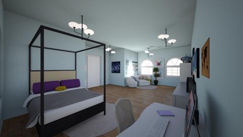 fer room - Bedroom  - by anasatyrom