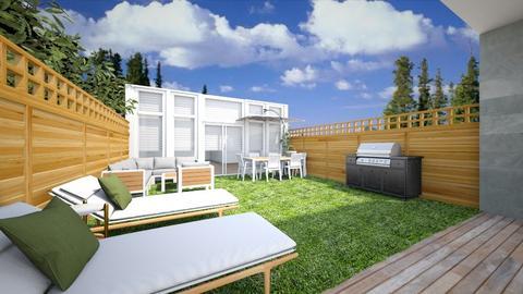 backyard - Garden - by seiraulo