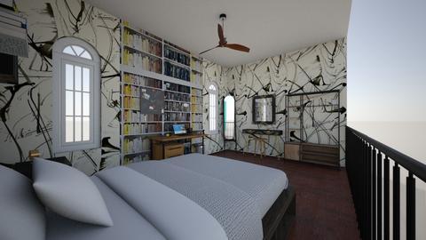 Loft - Vintage - Bedroom  - by bruschinha