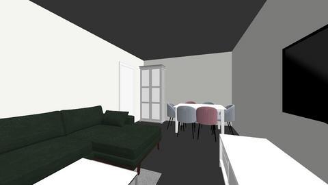 klaudia - Living room  - by karolina5546