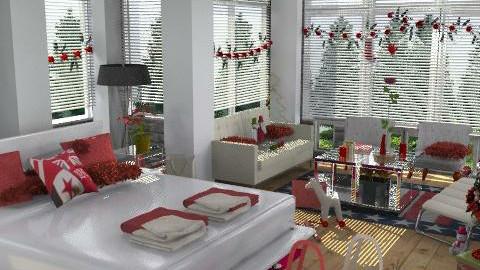 christmas - Modern - Bedroom  - by desireh