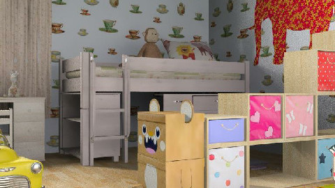 kids room 1 - Glamour - Kids room  - by RedLipSticK