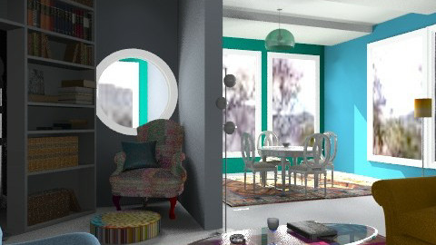 Sherlock 'Homes' - Eclectic - Living room  - by Interiors by Elaine