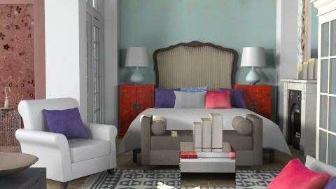 bedchrome - Eclectic - Bedroom  - by naki1