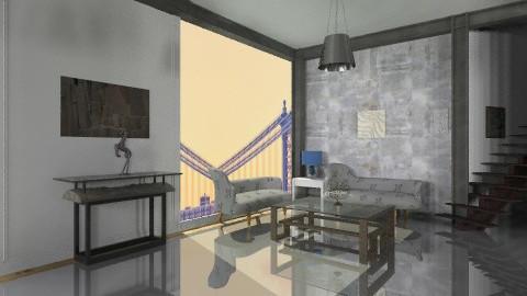 fabric2 - Modern - Living room  - by bluevioletspoprock