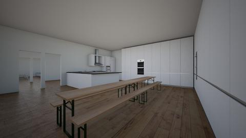 vakantie huisje - Modern - Kitchen  - by Lynnvb