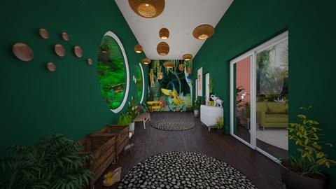 Sophie Jungle Hallway  - by SophieFrog