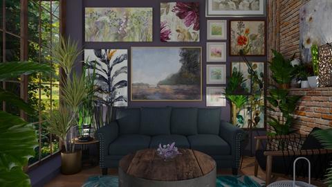 Botany - Living room - by rachaelp636