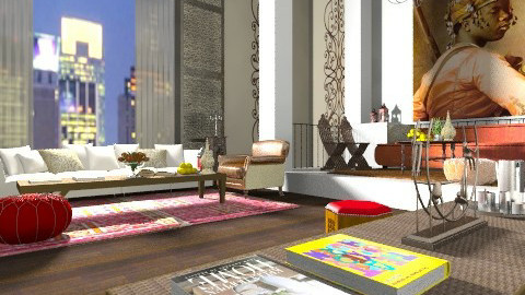Middle Eastern Touch - Eclectic - Living room  - by AlSudairy S