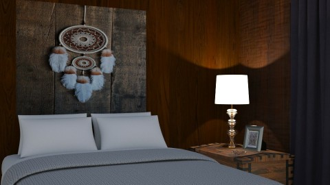 Sleep - Rustic - Bedroom  - by PippyLStocking