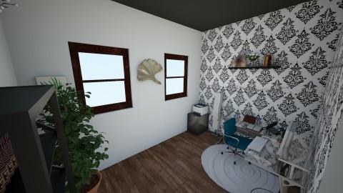 Elegant Office - Minimal - Office - by interiordesignmajor013