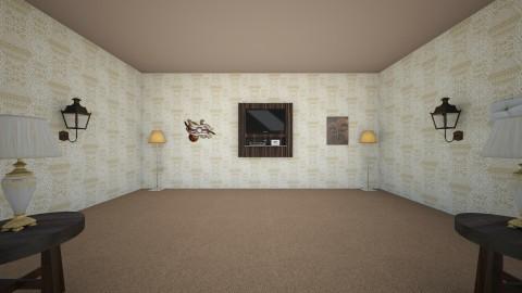 Mocha Frappe - Vintage - Living room - by Elf_prettyballetgirl16