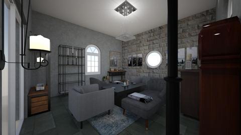 Living room 1 Final - Living room  - by singh78407