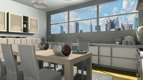 down town - Modern - Kitchen  - by vesperart