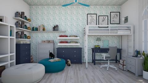 Blue sky - Modern - Bedroom  - by colorful_eye