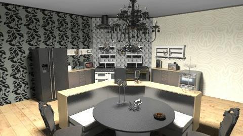 Nordic - Eclectic - Kitchen  - by Mariahmayhem666