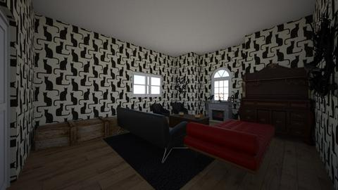 Gretas Halloween Room - Living room  - by GretaReyes