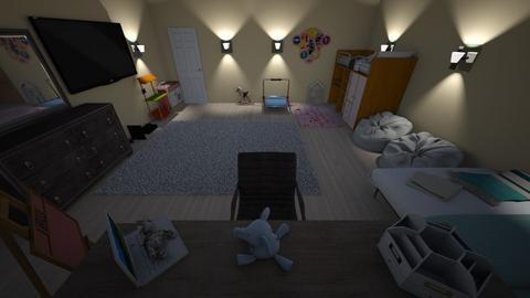 Night Time Bedroom - Kids room  - by DamonM