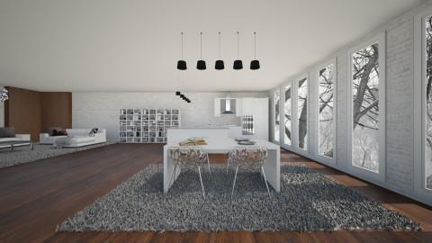 Modern house 04 - Modern - by Keliann