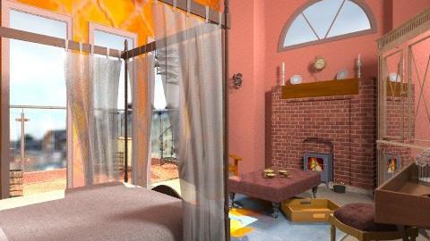 Four poster - Rustic - Bedroom  - by mrschicken