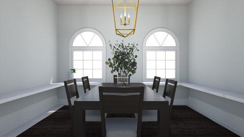 Scandinavian - Dining room  - by Mila dimitrova