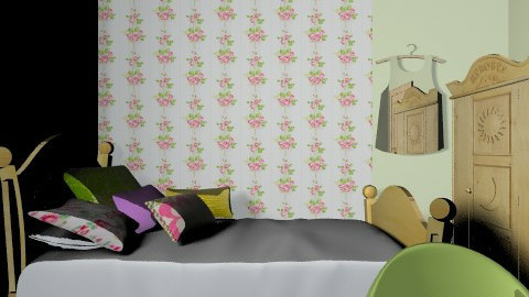tommelise room2 - Vintage - Kids room  - by karianna