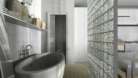 One Bath - Eclectic - Bathroom  - by ovchicha