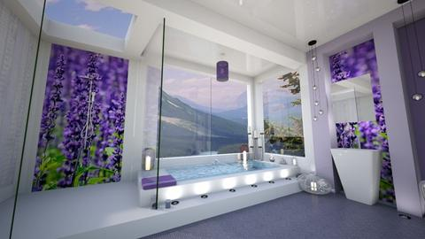 Lovely Lavander - Bathroom - by Alexandra_21