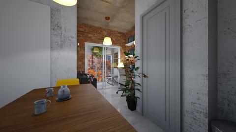 studio loft view 2 - Minimal - by BlokhEphroni