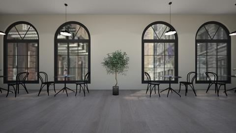 Black and White Cafe - Modern - by BaylorBear