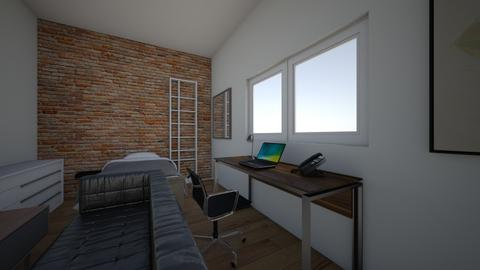 moj pokoj - Modern - Bedroom  - by szymcio