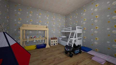 Kids room - Classic - Kids room  - by youareawsomkid19876