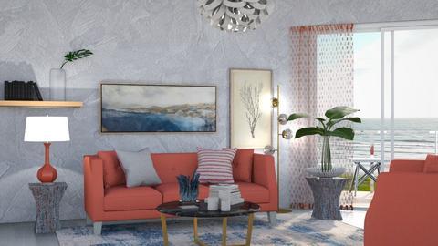 M_ Elisa - Living room  - by milyca8