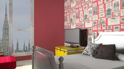 rrrrrrrwaoom! - Eclectic - Bedroom  - by PFrate