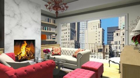 living - Classic - Living room  - by martinabb