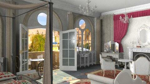Seville bedroom - Vintage - Bedroom  - by Bibiche