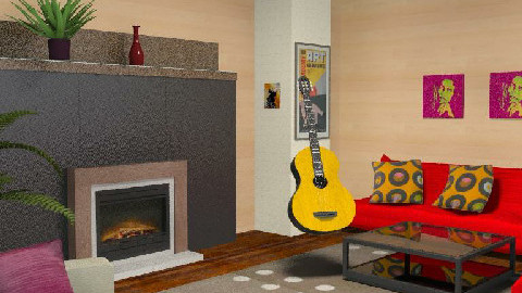 Hear The music - Living room - by tingo