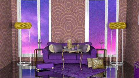 Epic Clow - Glamour - Living room  - by SariJo