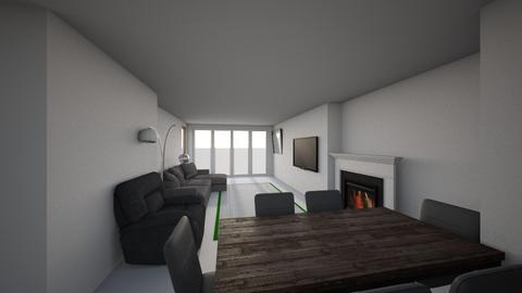 LVING ROOM - Modern - Living room  - by 2802atik
