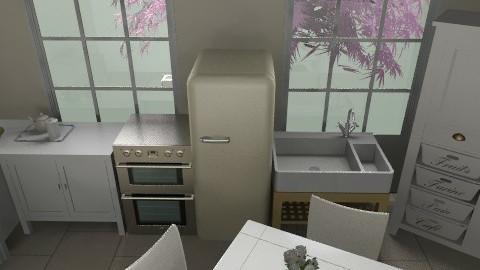 Kitchen unfinished - Classic - Kitchen  - by GraceJ